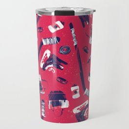 Tools of a Hockey Player Travel Mug