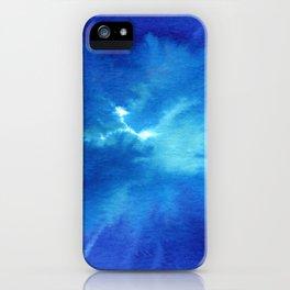 Blue Powder iPhone Case