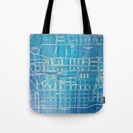Folk City Map No. 2 Tote Bag