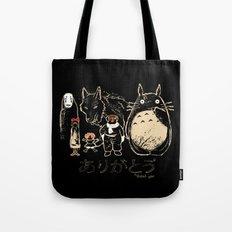 Tribute for Miyazaki Tote Bag