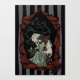Tragically Ever After: Mina Canvas Print