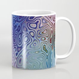 The Abstract Blues Coffee Mug