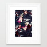 black butler Framed Art Prints featuring Black Butler by 1MI0