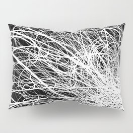 Linear Explosion Pillow Sham
