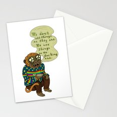 We don't see things as they are Stationery Cards
