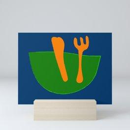 The Salad Servers of My Dreams  Mini Art Print