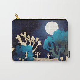 Desert Lake Moonlight Carry-All Pouch