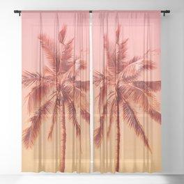 Palm beach Sheer Curtain