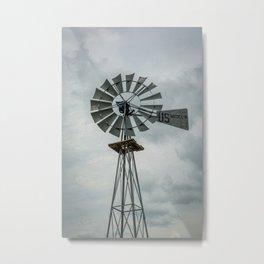 U.S. Wind Engine and Pump Company Model B Windmill Batavia Illinois Metal Print