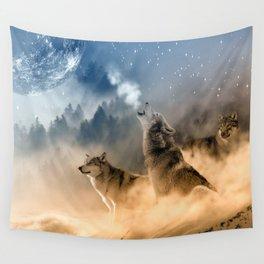 Moonrise Howl Wall Tapestry
