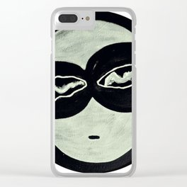 ONO FACE Clear iPhone Case