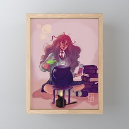 Something's brewing Framed Mini Art Print