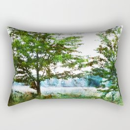 tinted meadow Rectangular Pillow