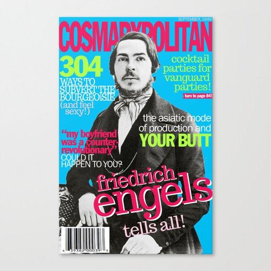 COSMARXPOLITAN, Issue 2 Canvas Print