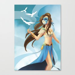 Goddess of the Sky Canvas Print