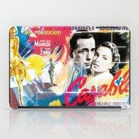 casablanca iPad Cases featuring Casablanca by Paky Gagliano