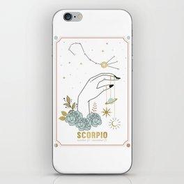 Scorpio Zodiac Series iPhone Skin