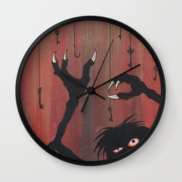 """Finding the Key to Your Heart"" Wall Clock"