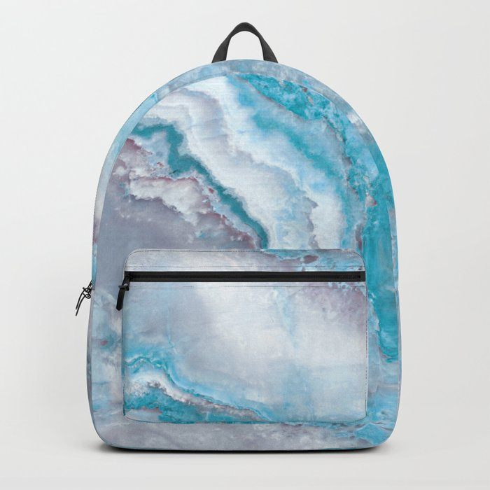 Ocean Foam Mermaid Marble Backpack