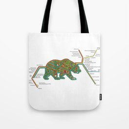 The Bear Area Tote Bag