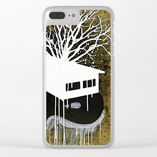 """""""Unknown III"""" Clear iPhone Case"""