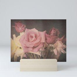 Vintage Roses Mini Art Print