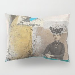 Pondering Flight Pillow Sham
