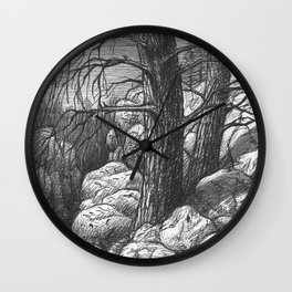 Living in the limit Wall Clock