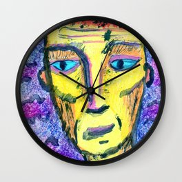 People with downcast look. №1 Wall Clock
