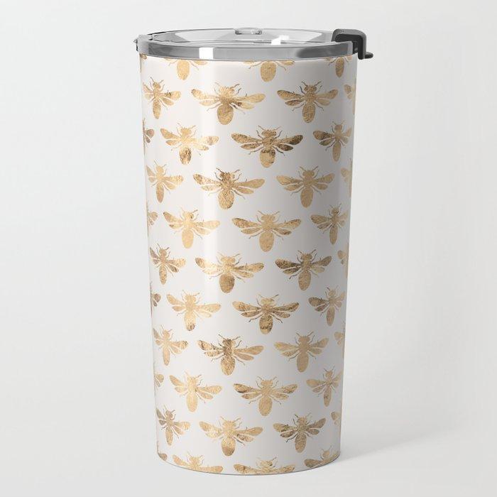 Honey Bees (Sand) Travel Mug