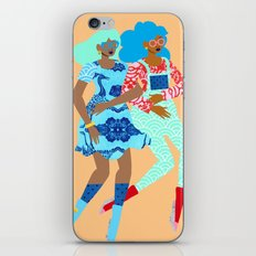 Spring in Our Step iPhone Skin