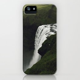Skogafoss iPhone Case