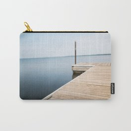 Fishing Pier on Lake Bemidji in Northern Minnesota 2 Carry-All Pouch