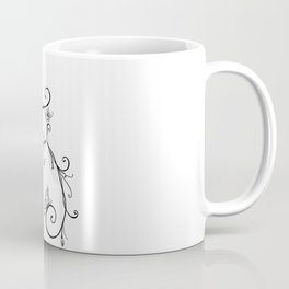 Butterfly Vines Coffee Mug
