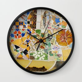 Parc Güell Wall Clock