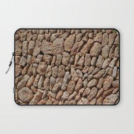 Stone wall background Laptop Sleeve