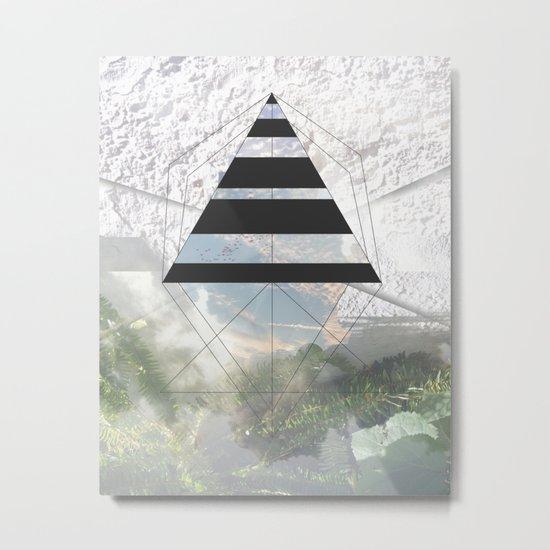 Opening in New Metal Print
