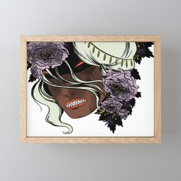 White as Milk, Red as Blood: Witch Framed Mini Art Print