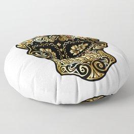 Suger Skull PNG Floor Pillow