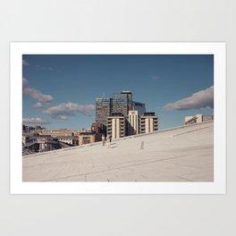 Oslo#1 Art Print