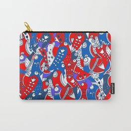Birds doodle Carry-All Pouch