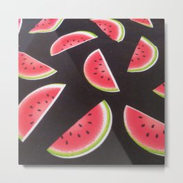 Watermelon's Metal Print