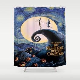 Nightmare Before christmas Shower Curtain
