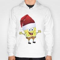 spongebob Hoodies featuring Spongebob Celebration by Arteresting Shop