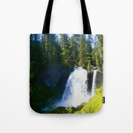 Gushing Waterfall Tote Bag