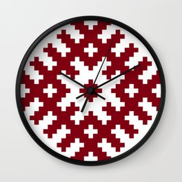 Latvian symbol Wall Clock