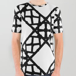 LETTERNS - K - Copperplate All Over Graphic Tee