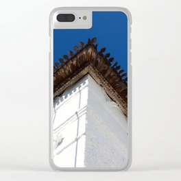 Corner of the tower Clear iPhone Case