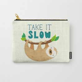 Sloth: Take it Slow Carry-All Pouch