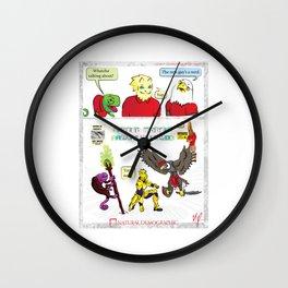 Natural Demographic #6 Wall Clock